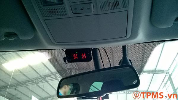 TPMS màn hình kim cương xe Mazda 6