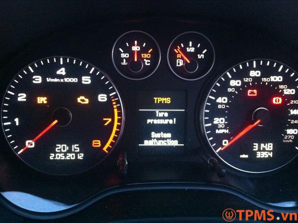 cảm biến áp suất lốp xe Audi
