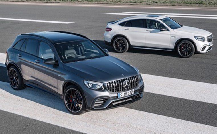 Mercedes-AMG GLC63 và GLC63 Coupe 2018 lộ diện