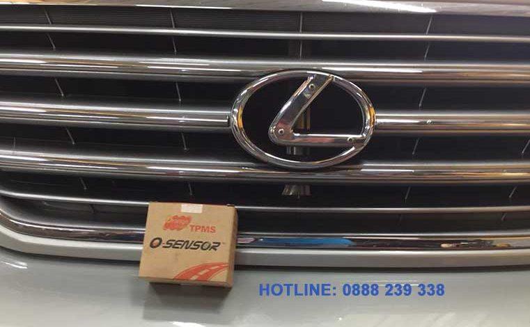 Lắp đặt cảm biến áp suất lốp Lexus GX470 2004