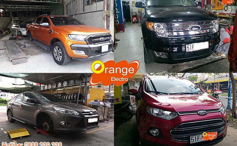 Phân phối và lắp đặt cảm biến áp suất lốp Ford tại Việt Nam