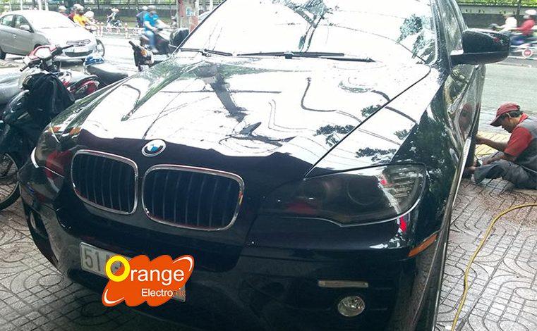 Cài đặt áp suất lốp xe BMW X6 2008