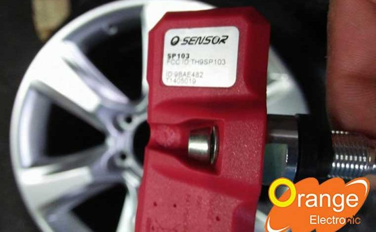 Lắp đặt và lập trình cảm biến áp suất lốp xe Lexus GX460