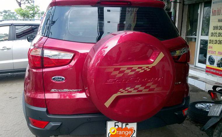Lắp đặt bộ TPMS màn hình kim cương xe Ford Ecosport