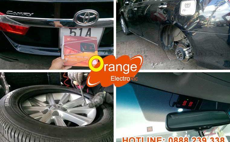 Lắp đặt cảm biến áp suất lốp Toyota Camry 2013
