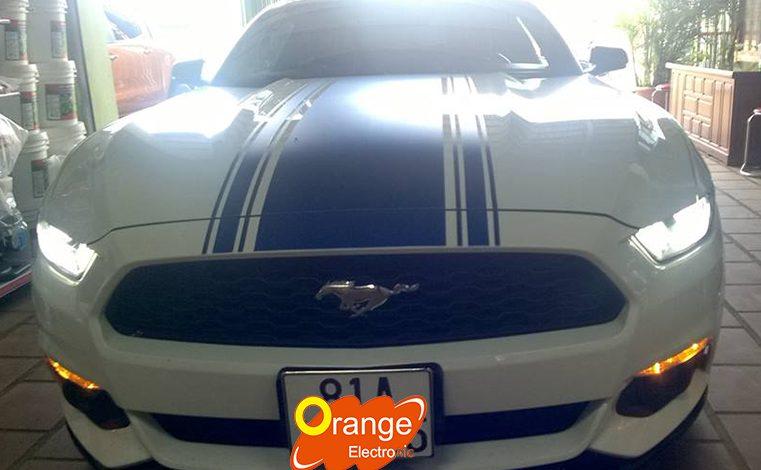 Lắp đặt cảm biến áp suất lốp Ford Mustang 2015