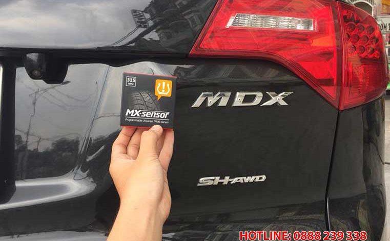 Cài đặt cảm biến áp suất lốp Acura MDX 2008