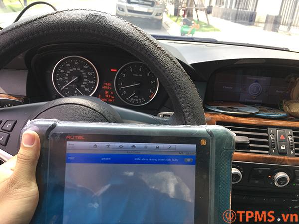 cảm biến áp suất lốp BMW
