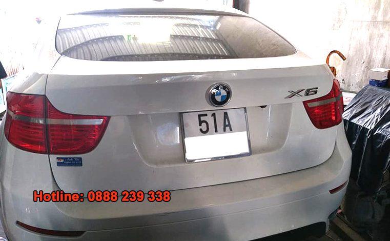 Cài đặt cảm biến áp suất lốp BMW X6 2008