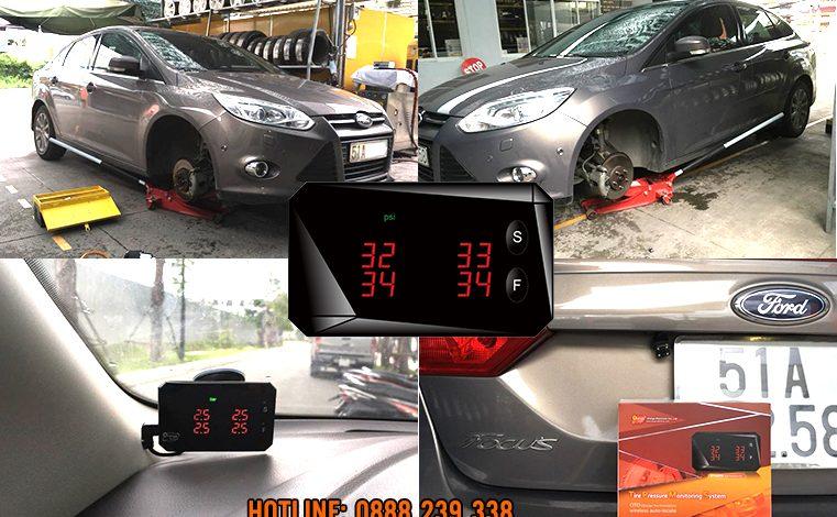 Lắp đặt cảm biến áp suất lốp xe Ford Focus