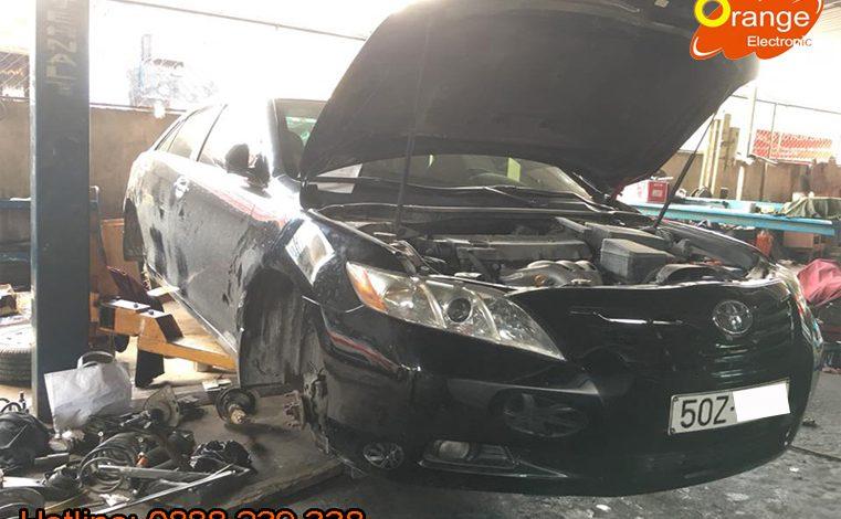 Cài đặt cảm biến áp suất lốp Toyota Camry 2007