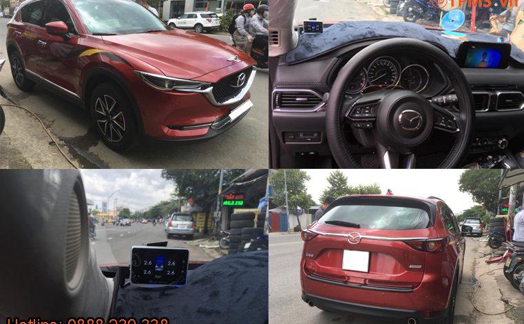 Lắp đặt cảm biến áp suất lốp Mazda CX-5 2018