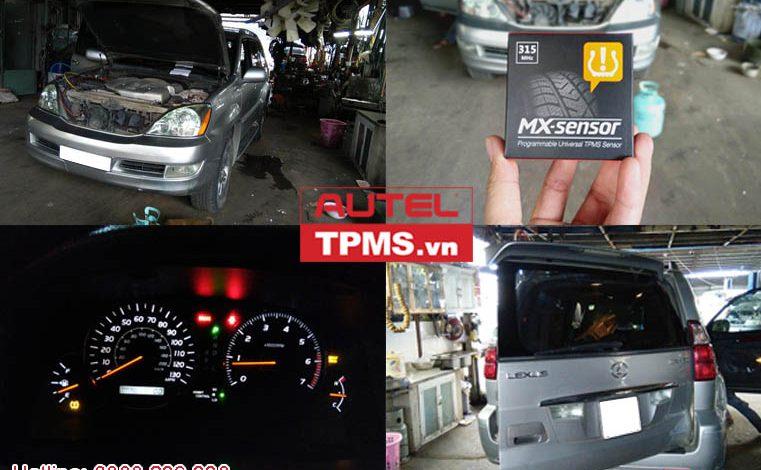Lập trình cảm biến áp suất lốp Lexus GX470 2008