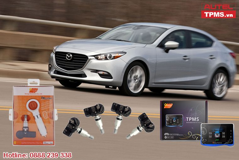 Thiết bị cảm biến áp suất lốp Mazda 3