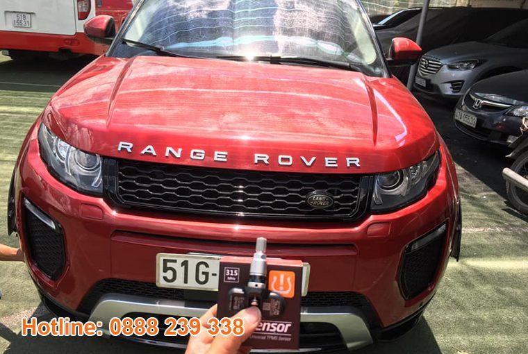 Cài đặt cảm biến áp suất lốp Range Rover Evoque 2015