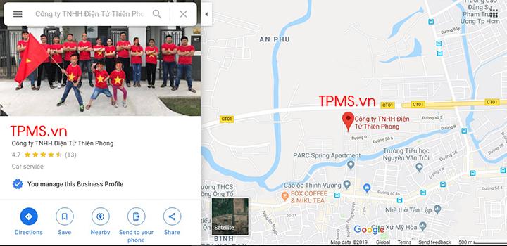 bản đồ tới tpms.vn