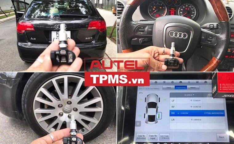 Thay van cảm biến áp suất lốp Audi A3 2008
