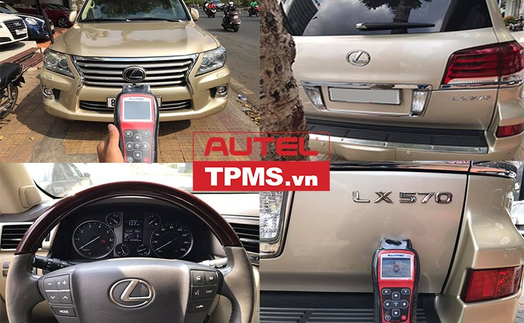 Kiểm tra cảm biến áp suất lốp Lexus LX 570