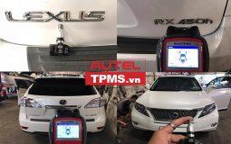 Thay cảm biến áp suất lốp LEXUS RX450H 2007
